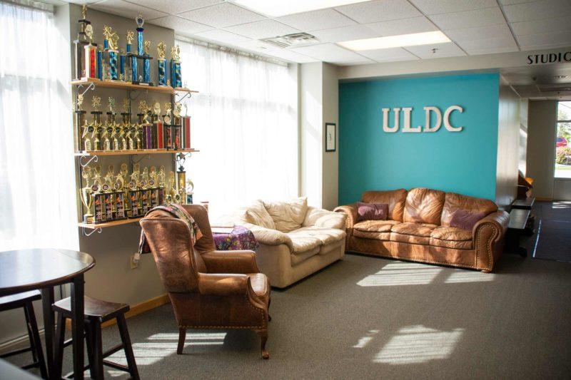 Ultimate Leap Dance Center Waiting area
